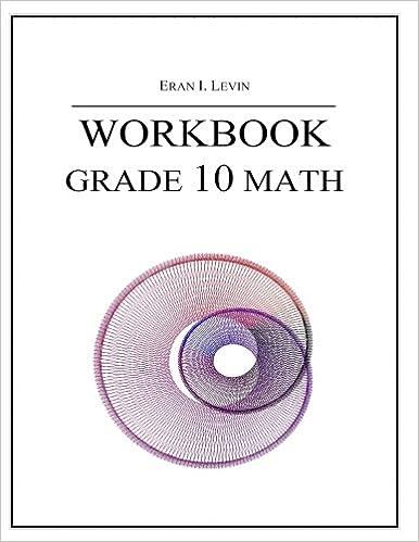 Amazon workbook grade 10 math 9781495344374 eran i amazon workbook grade 10 math 9781495344374 eran i levin books fandeluxe Gallery