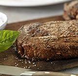 Laura's Lean Grass Fed Natural Ribeye Steaks 10oz