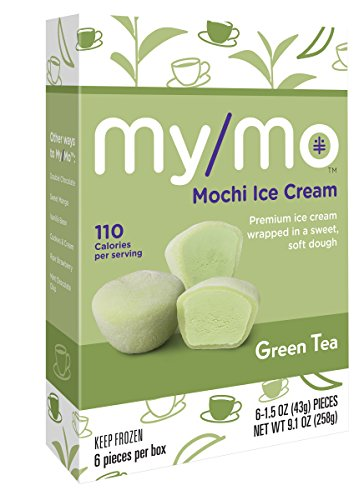 My/Mo Green Tea Mochi Ice Cream - 36 Mochi Ice Cream Balls (6 x 6ct. Boxes)