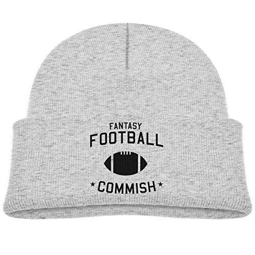Qiop Nee Fantasy Football Commish Beanie Caps Knit Hats -