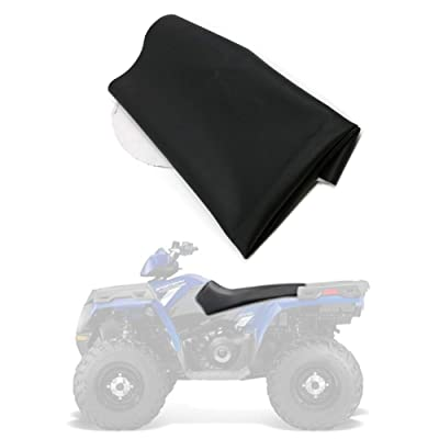 Motoparty ATV Quad Gear seat cover black For Polaris Sportsman 2005-2013 400 450 500 600 700 800 EFI MV Touring Twin Forest HO: Automotive