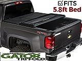 Gator  Tri-Fold Tonneau Truck Bed Cover Chevy Silverado GMC Sierrara  2014-2017  5.8' Bed 59109