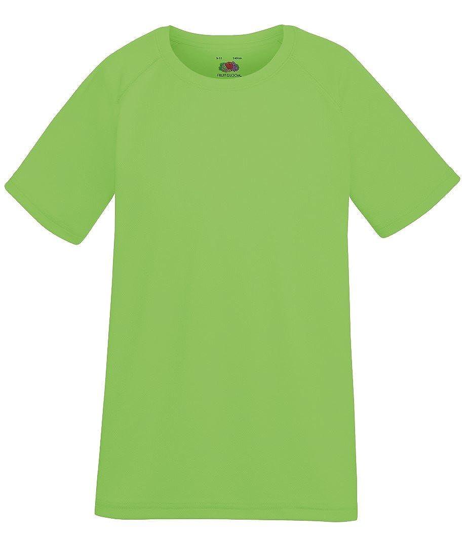 Fruit of the Loom Kids Performance Short Sleeve T Shirt