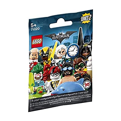 LEGO The Batman Movie Series 2 Collectible Minifigure - Clock King (71020): Toys & Games