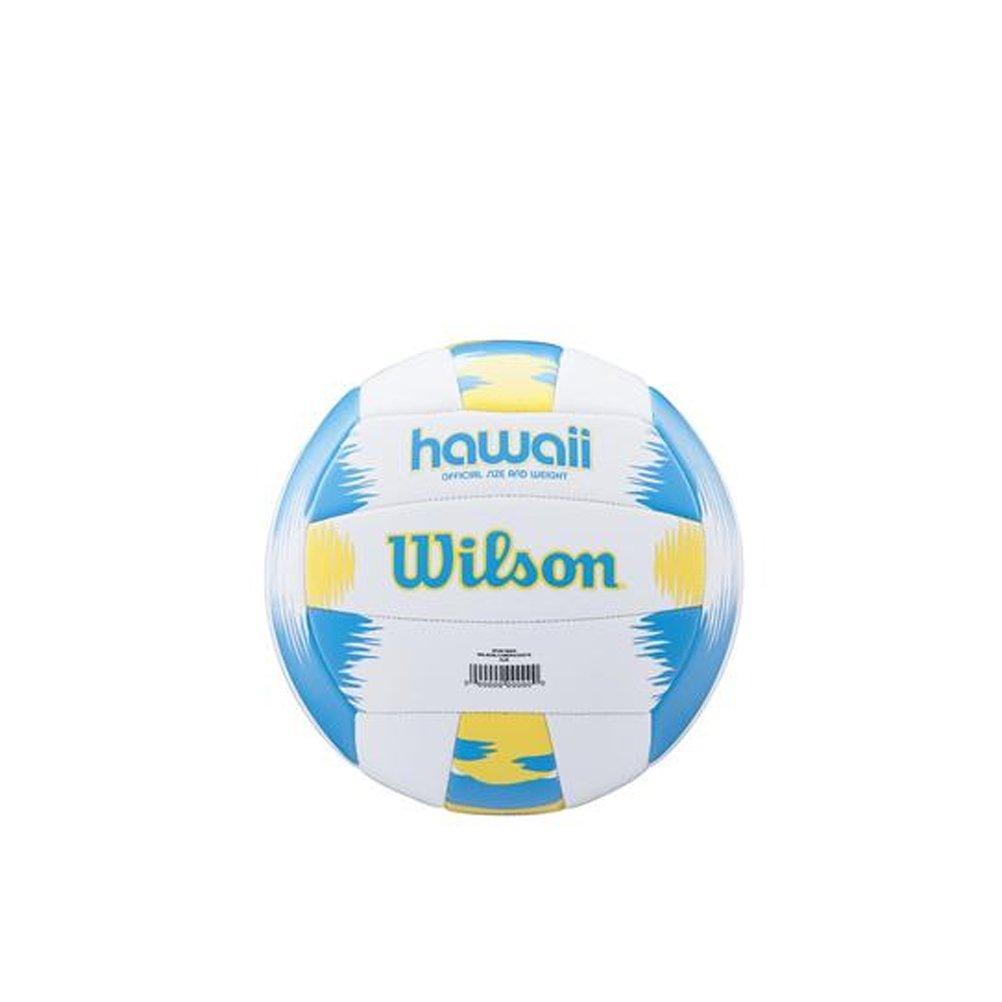Wilson Pelota de vóley-playa, Exterior, Uso recreativo, Tamaño oficial, AVP HAWAII, Azul/Amarillo WTH482657XB