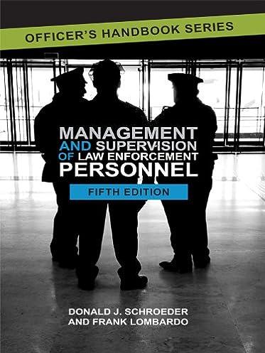 Law enforcement management array management and supervision of law enforcement personnel frank rh amazon com fandeluxe Gallery