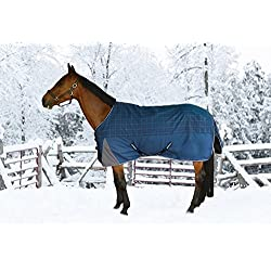 TuffRider Optimum 1200D Ripstop Top w/ 1680 Triple Weave Bottom Turnout Sheet with Standard Neck