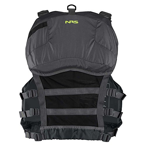 Nrs chinook fishing pfd charcoal black l xl buy online for Nrs chinook fishing pfd