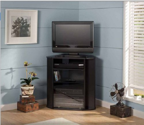 Bush Furniture Visions Tall TV Stand, for TVs up to 37