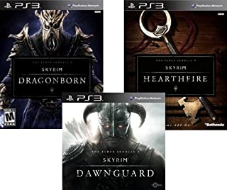 The Elder Scrolls V Skyrim DLC Bundle: Dawnguard, Dragonborn and Hearthfire - PS3 [Digital Code] (B00GS6A6V8) | Amazon price tracker / tracking, Amazon price history charts, Amazon price watches, Amazon price drop alerts