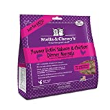 Stella & Chewy's Pouch Freeze-Dried Raw Yummy Lickin' Salmon & Chicken Dinner Morsels Grain-Free Cat Food, 9 oz