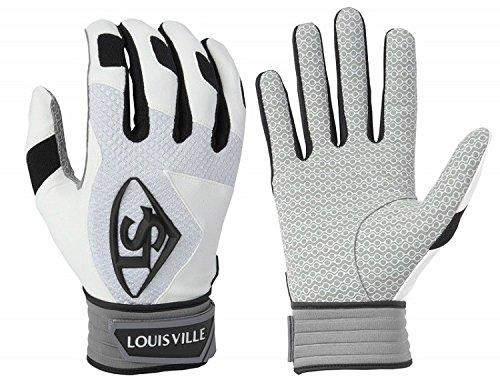 Louisville Slugger Series 7 Batting Gloves, White, Small (Louisville Glove)