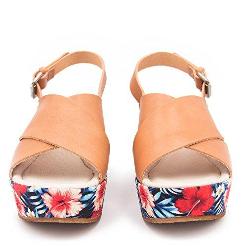 Sandals MARÍA BARCELÓ Leather Fashion Women's aqAwtravWn