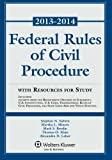 Federal Rule Civil Procedure 2013-2014 Stat Supp W/Resource Study, Subrin, 1454828323