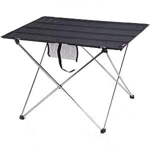 V9 Ultraligero Mesa Plegable al Aire Libre Camping al Aire ...