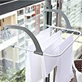 Hlluya Bathroom Accessory Set in Rustic Retro Industrial air Toilet Iron Pipes to The Wall Towel Rack Bathroom Solid Wood Shelf Racks, Small Number 503415cm