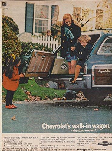 "1969 CHEVROLET 3-Seat KINGSWOOD ESTATE WAGON "" Chevrolet"