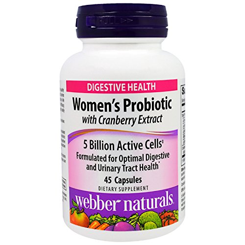 Webber Naturals, Women's Probiotic with Cranberry Extract...