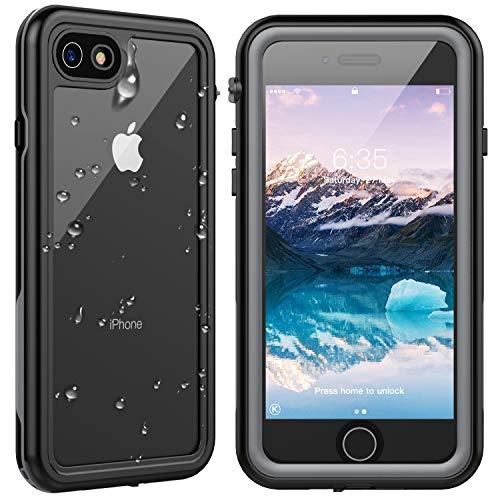 [해외]SPIDERCASE 아이폰 7아이폰 8 방수 케이스 내장 프로텍터 풀 바디 러그 케이스 IP68 방수 충격 방지 먼지 방지 눈 방지 수중 활동을 위해 디자인 아이폰 78 4.7인치 / SPIDERCASE iPhone 7iPhone 8 Waterproof Case, Built-in Protector Full Body R...