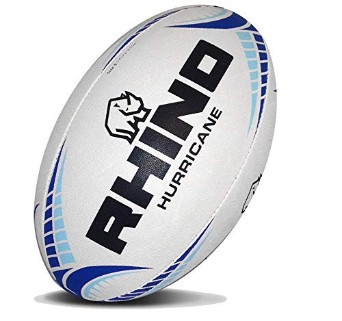 (Rhino Rugby Hurricane Practice Rugby Ball - Size 5)