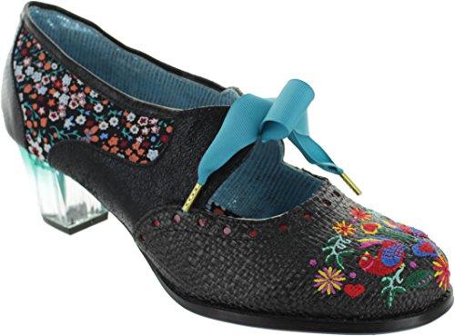 Textile Lizenzgröße 6 Bop Schnürschuhe Frauen Poetic Birdie 4azxq4H