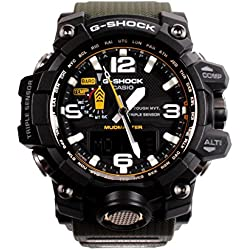 Casio Men's GWG1000-1A3 G-Shock Analog Digital Tough Solar Green Watch