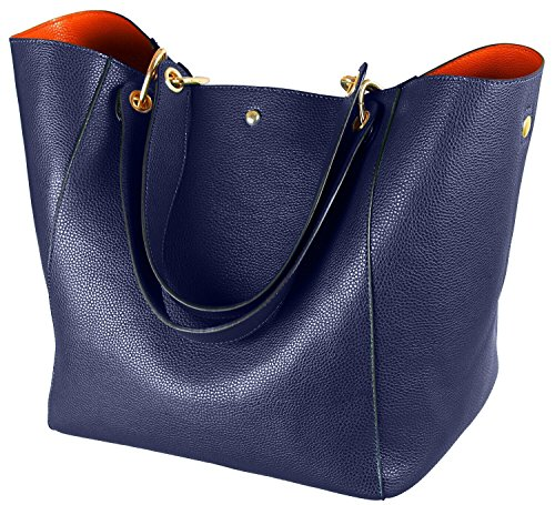 (SQLP Women's Waterproof Handbags ladies Leather Shoulder Bag Fashion Totes Messenger Bags)