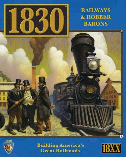 Iron Horse Ride - Mayfair Games 1830 Railways And Robber Barons - North East US