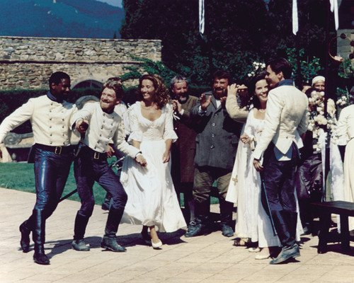 (Kenneth Branagh and Emma Thompson and Denzel Washington in Much Ado About Nothing 16x20 Poster )