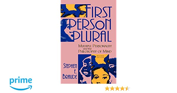 Amazon first person plural multiple personality and the amazon first person plural multiple personality and the philosophy of mind 9780847679966 stephen e braude books fandeluxe Image collections