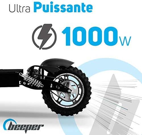 BEEPER Trottinettes électriques Cross 1000W Batterie Plomb 36V (avec ou sans Selle) FX1000