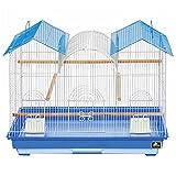 Prevue Hendryx Parakeet Triple Roof Flight Cage