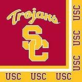 20-Count NCAA Paper Lunch Napkins, USC Trojans