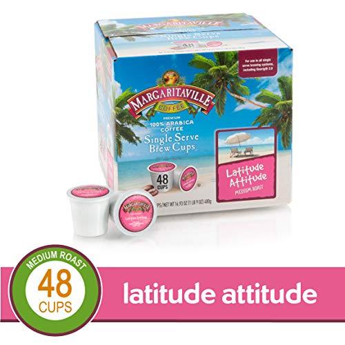 Margaritaville Latitude Attitude Coffee K-Cups, 48 Count Now $12.95 – 26¢ Per K-Cup