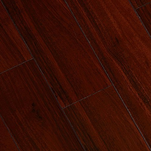 High Gloss Brazilian Cherry 8 mm Thick x 5-5/8 in. Wide x 47-7/8 in. Length Laminate Flooring (18.70 sq. ft. / (Brazilian Cherry Laminate)