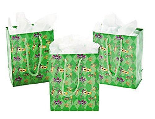 Small Mardi Gras Gift Bags (Mardi Gras Treats)
