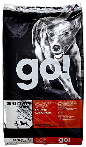 Petcurean 152360 Go Sensitivity And Shine Salmon For Dog, 25-Pound