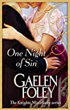 One Night Of Sin: Number 6 in series (Knight Miscellany)