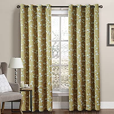 H.Versailtex Thermal Insulated Blackout Bedroom Curtains