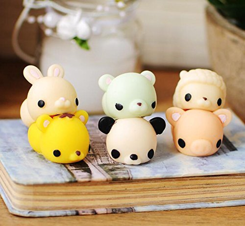 Squishy Toys Made In Usa : Xinyuanweiye Adorable Mini Squishy Animal Toy Slow Rising Reduce Pressure Squeeze Soft Press ...