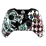 eXtremeRate Joker Faceplate Cover, Hydro Dipped Front Housing Shell Case, Replacement Kit for Microsoft Standard Xbox One Controller Review