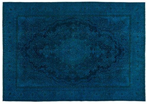 8'0'x11'0' Rectangular Rug (Nakkas Antique Handwoven Persian Rug Turquoise 8'0'' X 11'9'')