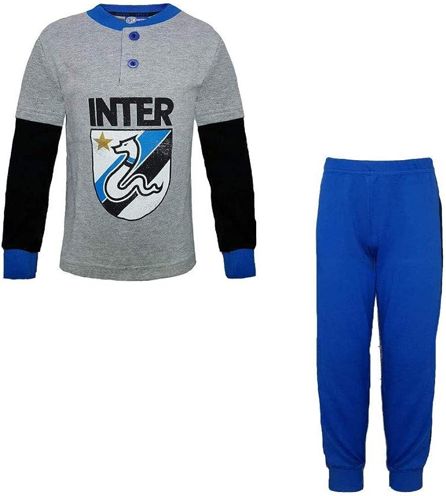 FC INTER Pijama para niño de cálido algodón producto oficial art. IN16060