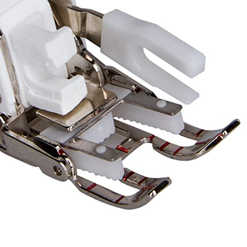 Multi function Sewing Presser bottom together with Quilt lead Unique Open digits Walking bottom in shape for brother perhaps even Feed bottom F033N F033 XC2214002 demands bottom SA188 Presser Feet