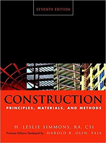 Construction principles materials and methods h leslie simmons construction principles materials and methods 7th edition fandeluxe Image collections