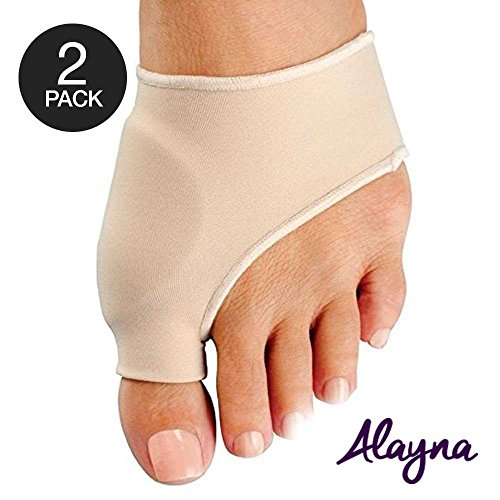 Bunion Corrector and Bunion Relief Sleeve with Gel Bunion Pads Cushion Splint Orthopedic Bunion Protector for Men and Women - Hallux Valgus Corrector Bunion Bootie Guard - Stop Bunion Pain (2 PCS)