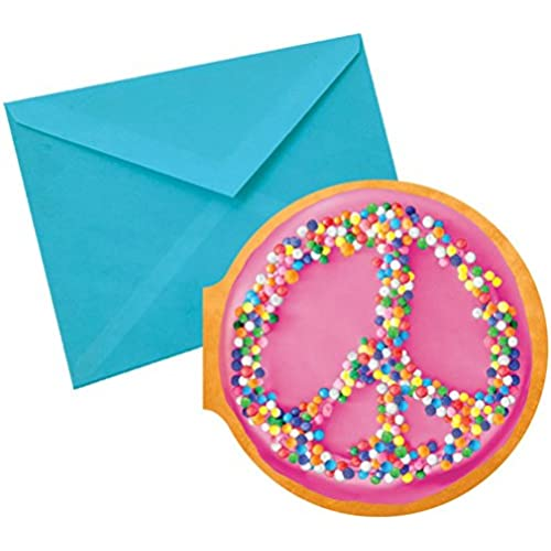 iscream 'Peace Donut' Chocolate Scented Notecards Sales