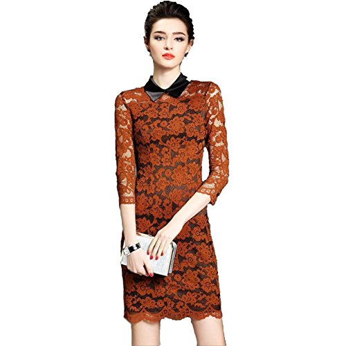 JBZYM VD79031C1 In The Skirt Seven Points Lace Women Dresses - Size S