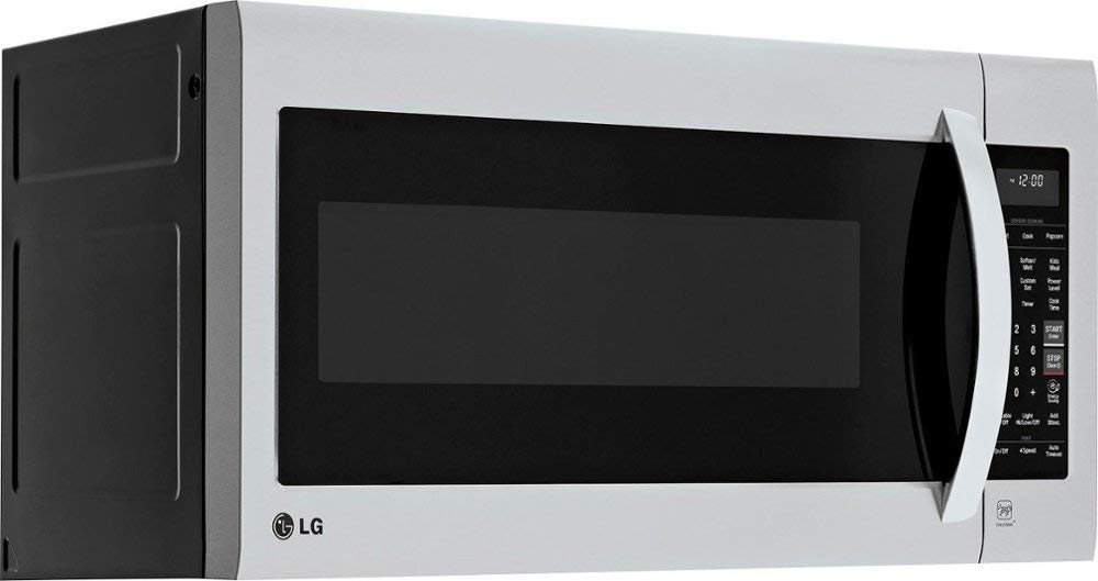 LG - 2.0 Cu. Ft. Over-the-Range Microwave - Stainless steel-Model:LMV2031ST by Alioea