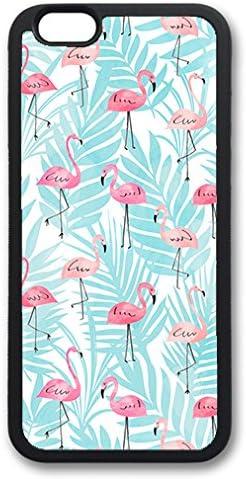 THEcoque Coque Silicone Bumper Souple IPHONE 4/4s - Flamant Rose Flamingo Animal Case TPU Design Film de Protection Inclus